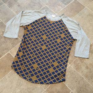 LuLaRoe women's size L Randy top